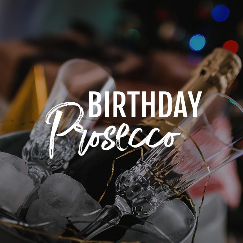 birthday prosecco