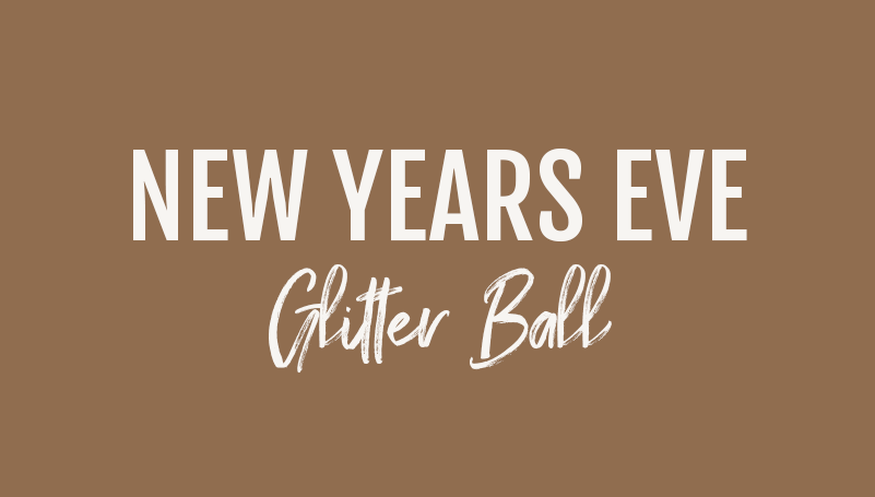 New Year's Eve Glitter Ball